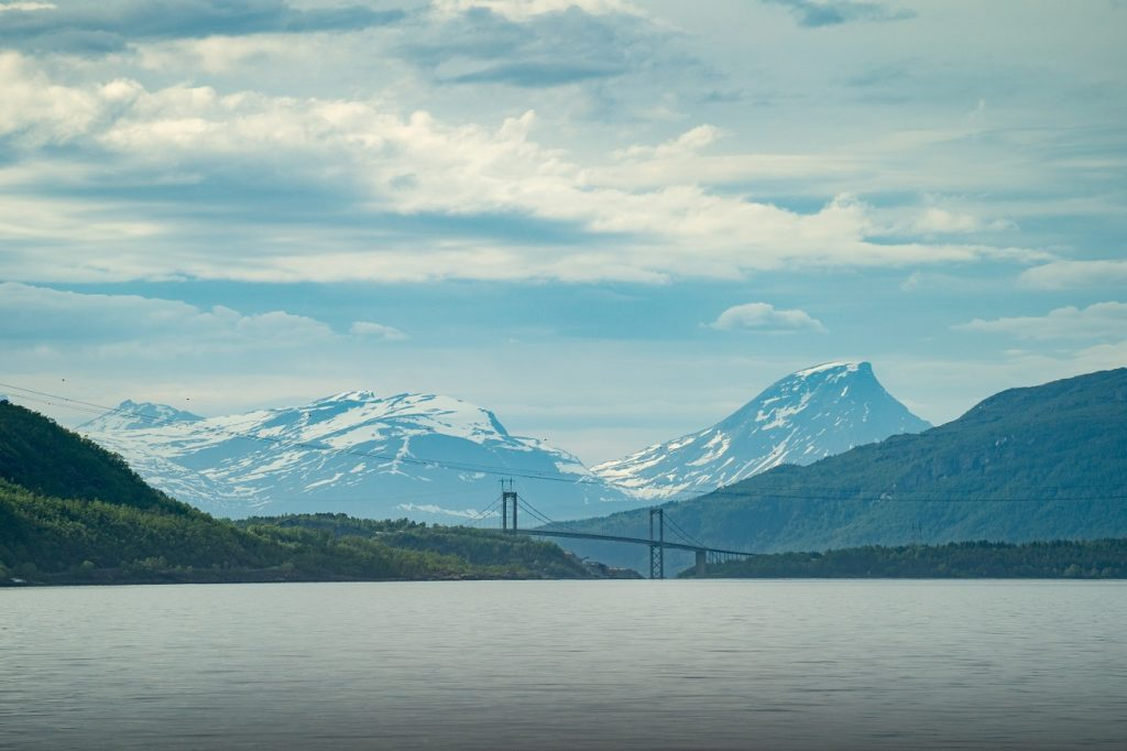 Hålogalandsbrua - Rombaksfjorden - Ofoten - Nordland - Nord-Norge - Artic Train - Norway`s best