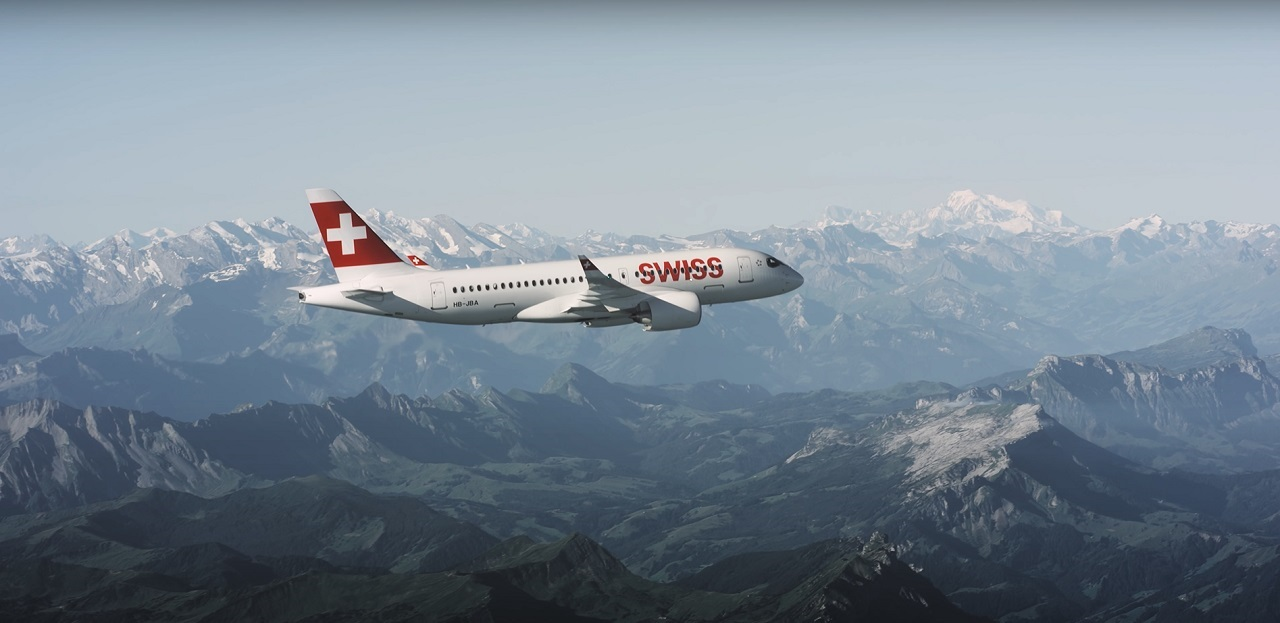 Swiss - Airbus A 220-100
