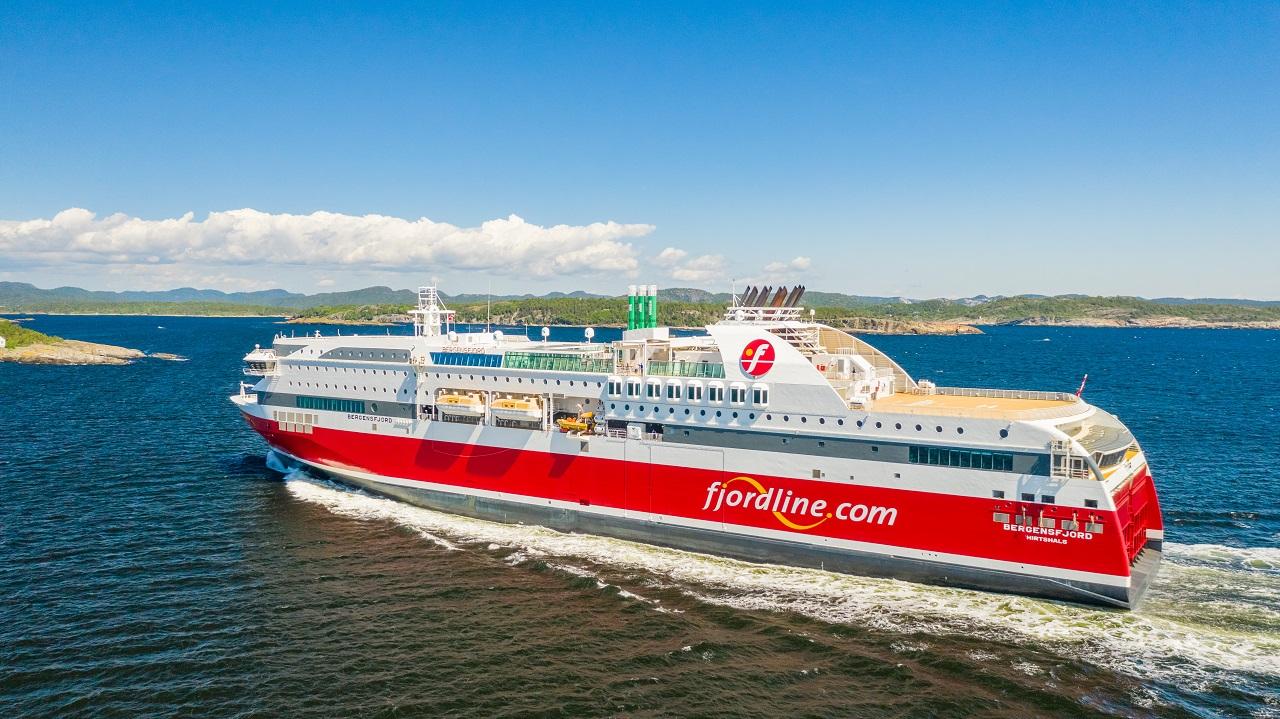 MS Bergensfjord - Danskeferje - Fjord Line - Norge - Danmark
