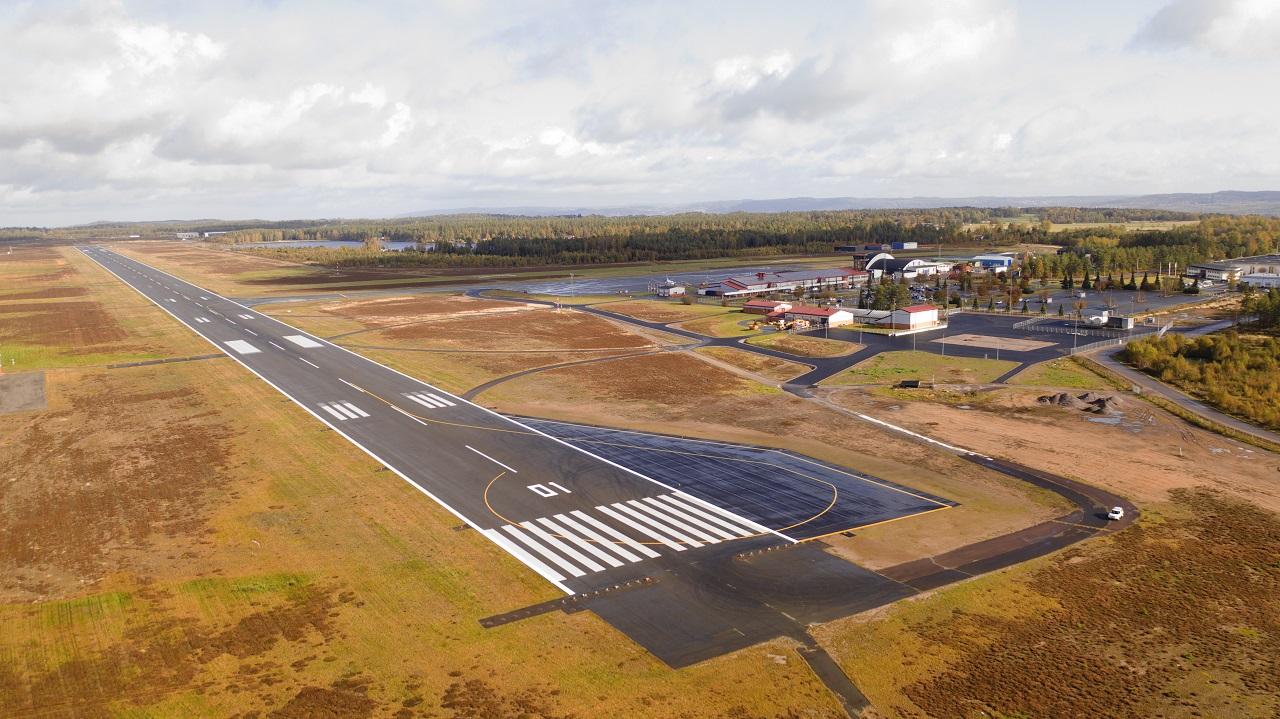 Rullebane - Jönköping Airport - Sverige