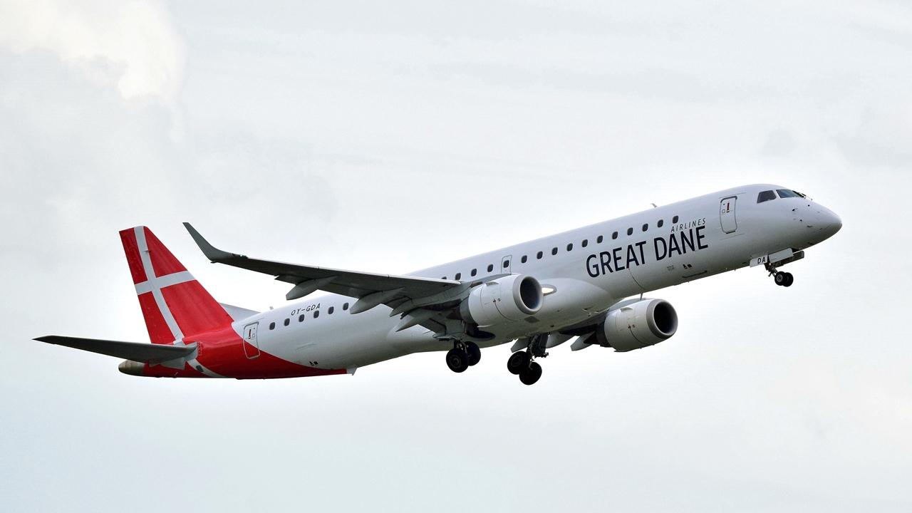 Embraer 190 - Great Dane Airlines - Aalborg - Danmark