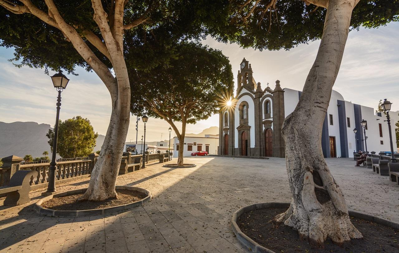 Santa Lucía de Tirajana - Fjellby - Gran Canaria