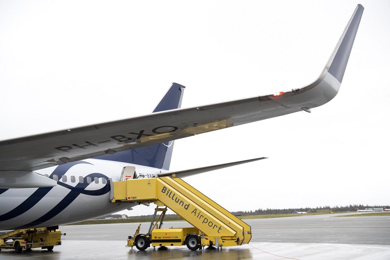 KLM- Boeing 737 - Skyteam livery - Billund Airport - 2021