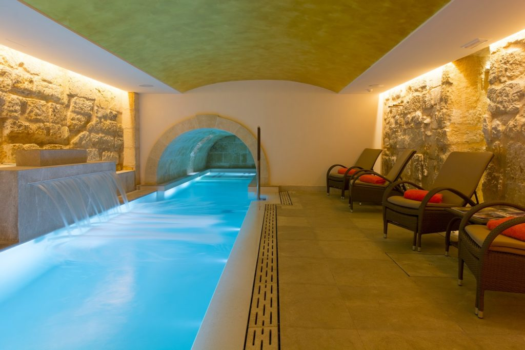 Badebasseng - Pool - Hotel Gloria de Sant Jaume - Palma - Mallorca - Spania