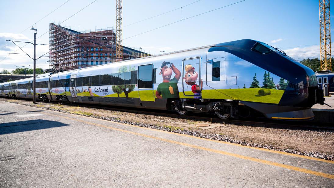 KuToppen - tog - Go-Ahead - Sørtoget - Sørlandsbanen