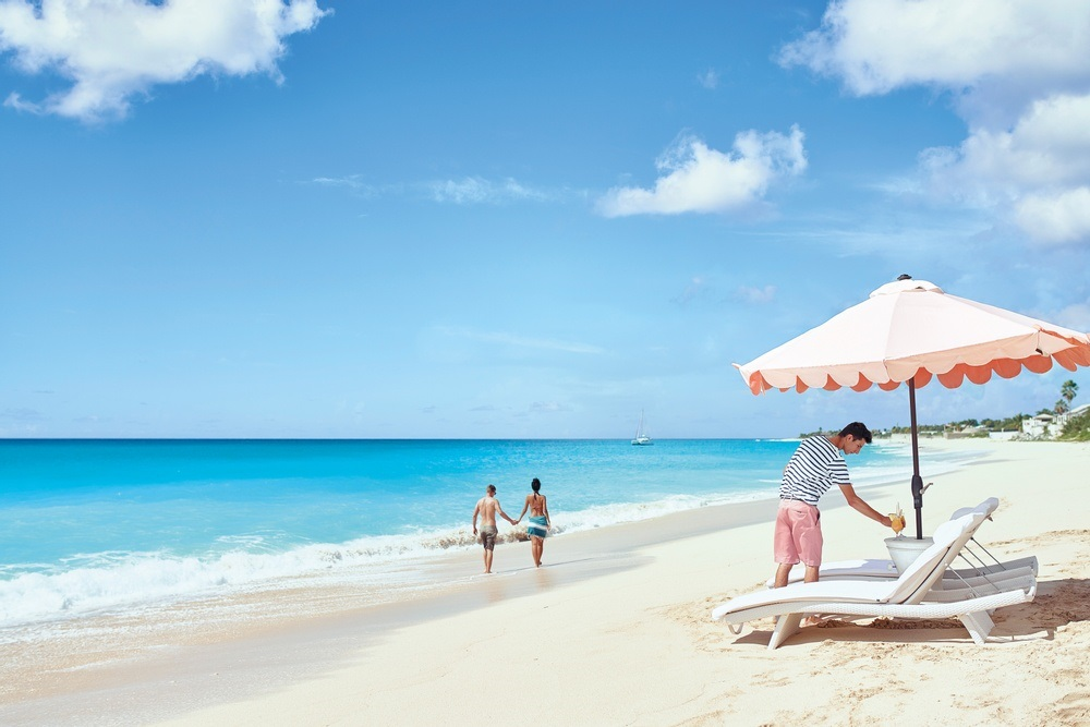 La Samanna Beach - St. Martin - Franske antiller - Karibien